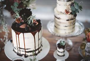 Wedding mood board | Winter drama | These Four Walls blog