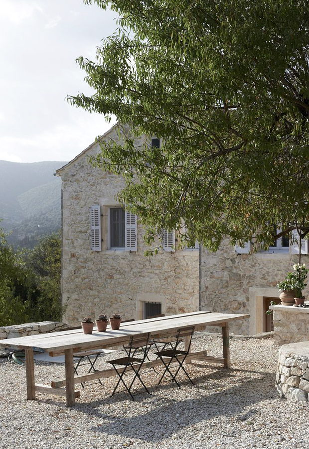 Home tour | A rustic Greek villa with a contemporary edge | These Four Walls blog