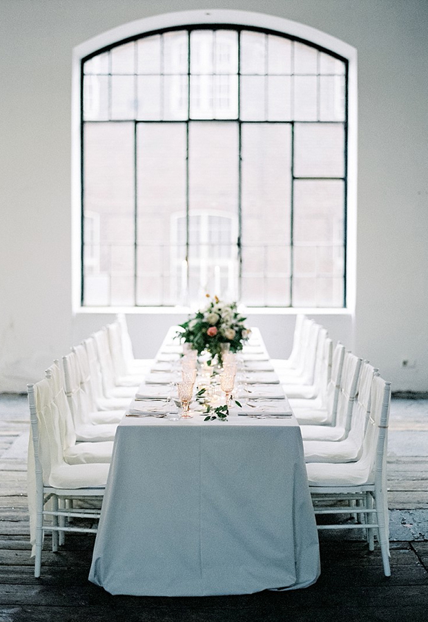 Warehouse wedding reception 4