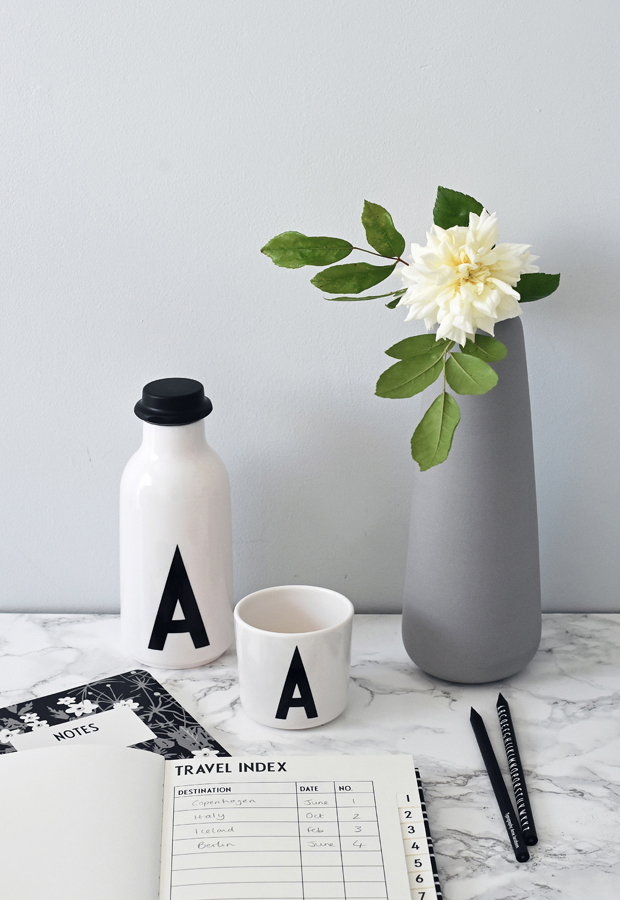 Summer office styling with Design Letters & Friends | These Four Walls blog