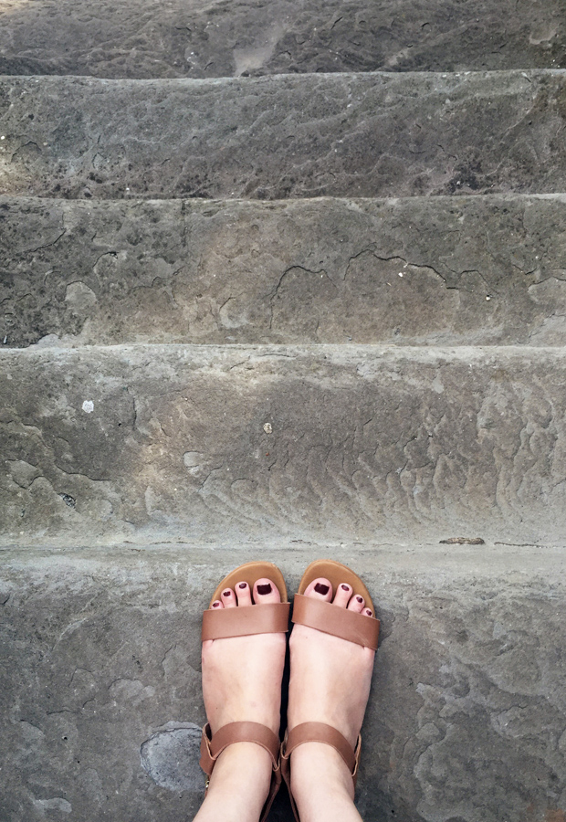 A week on my feet   These Four Walls blog
