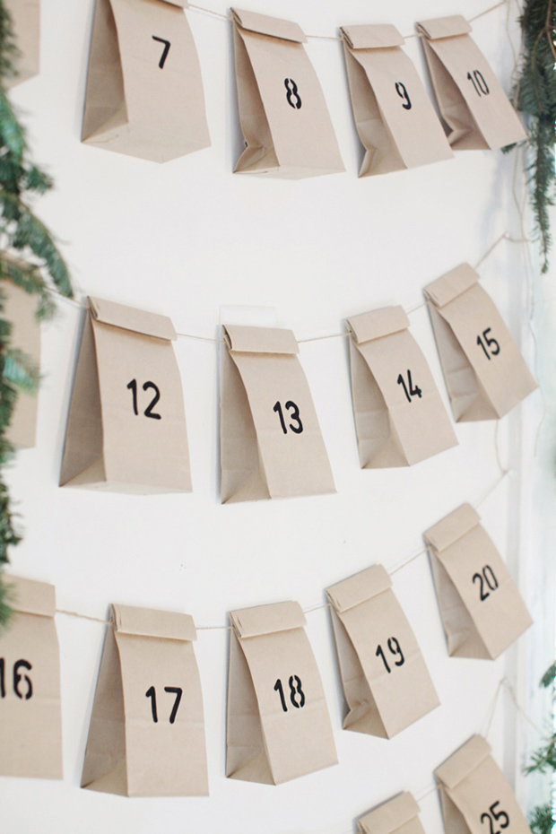Six stylish advent calendar ideas | These Four Walls blog