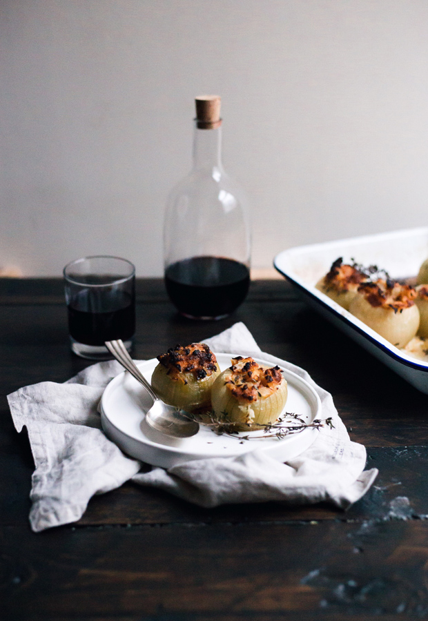 Recipe | Baked stuffed onions | These Four Walls blog