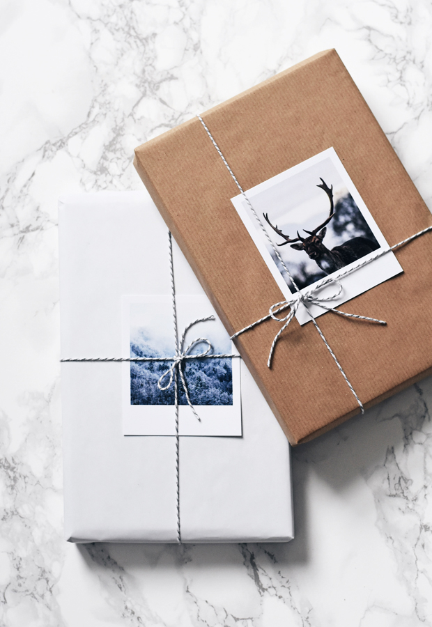 Christmas gift wrapping with Inkifi | These Four Walls blog