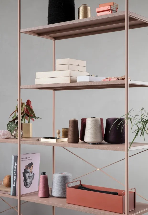 'Punctual' by Ferm Living | Six of the best... Scandinavian shelving systems | These Four Walls blog