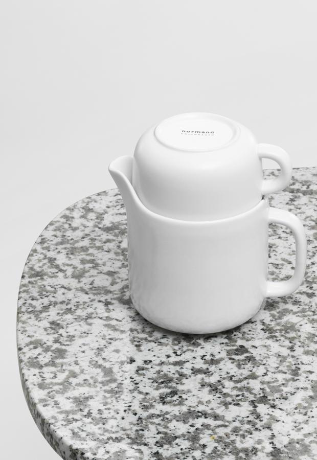 Normann Copenhagen's 'Bliss' tea set at Ross & Brown   New furniture & homeware finds   These Four Walls blog