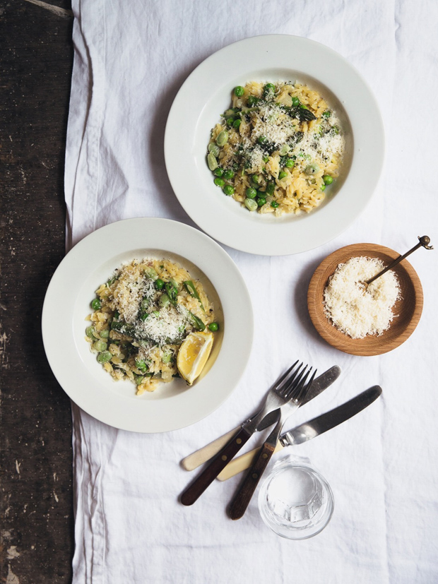 Recipe | Spring orzotto | These Four Walls blog