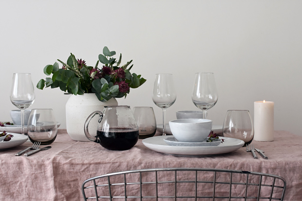 Styling an autumn table with Rose & Grey | These Four Walls blog
