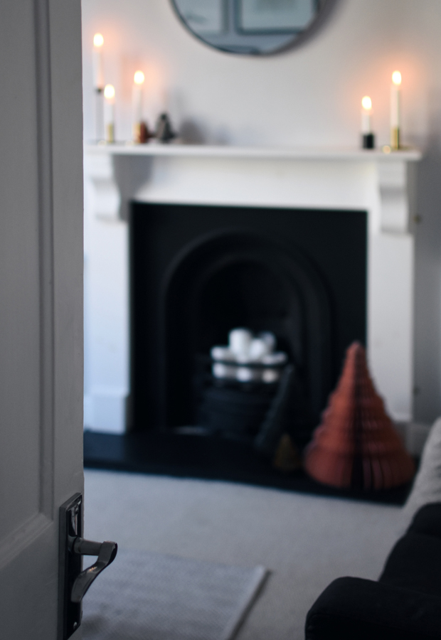 Christmas styling with Rose & Grey | Part 1 - contemporary minimalism | These Four Walls blog