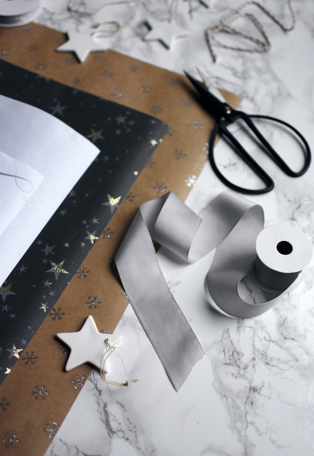 Simple but stylish Christmas gift wrapping with The White Company | These Four Walls blog