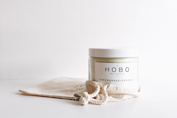Reader survey + Hobo Soy Candles giveaway | These Four Walls blog