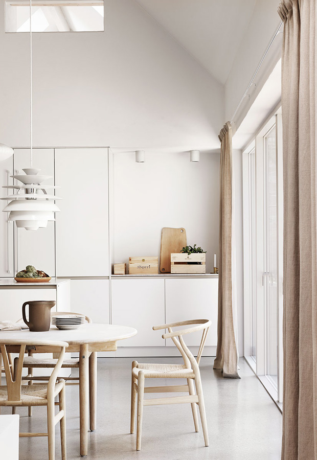 Home Tour Neutral Tones Natural Materials In Southern Sweden These Four Walls