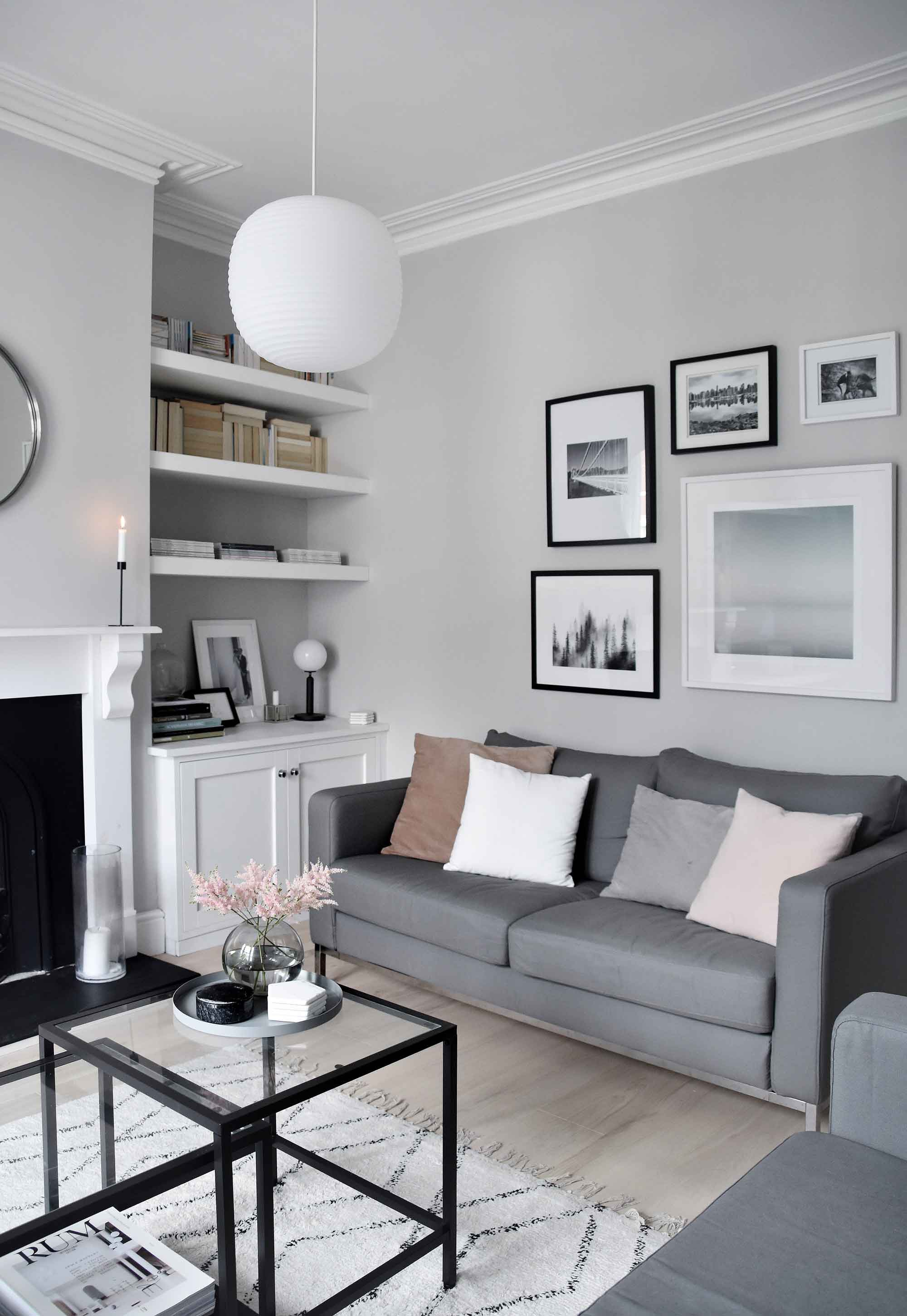 My Soft, Minimalist Living Room Makeover U2013 The Reveal | These Four Walls  Blog