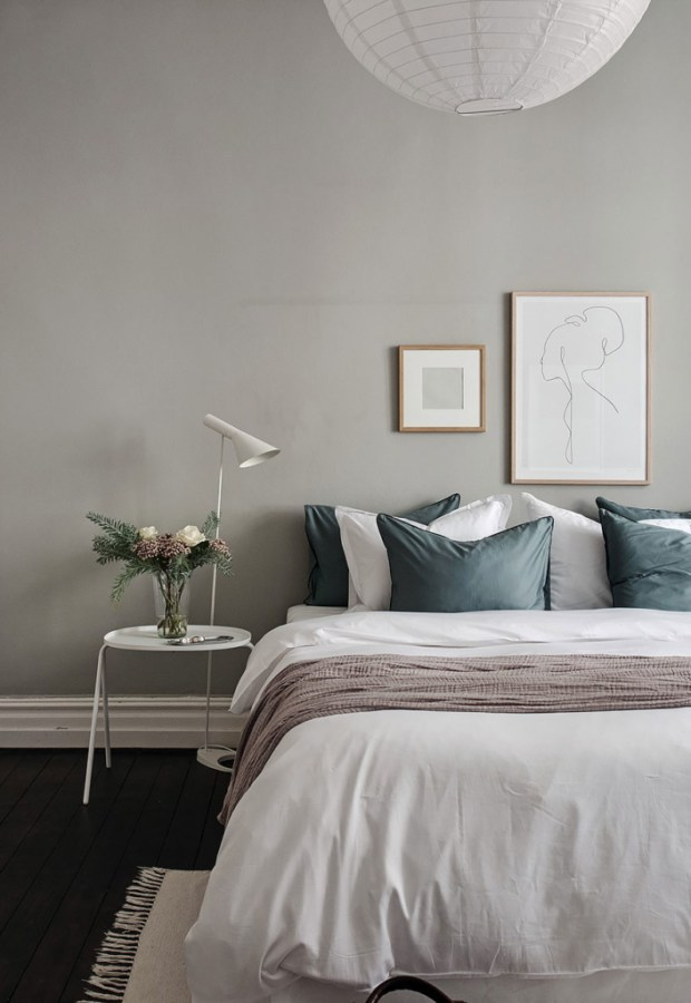 Home Tour A Swedish Apartment With A Soft Green Bedroom These Four Walls