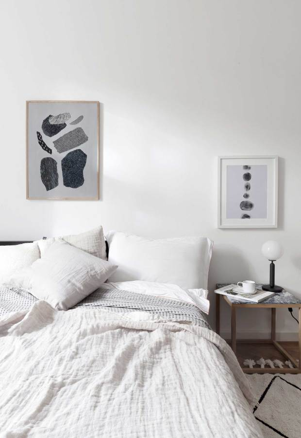 Abstract prints from Coco Lapine Design | These Four Walls blog