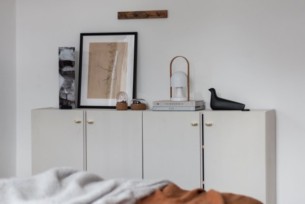 Home tour - a calm, cosy apartment in the Czech Republic | These Four Walls blog