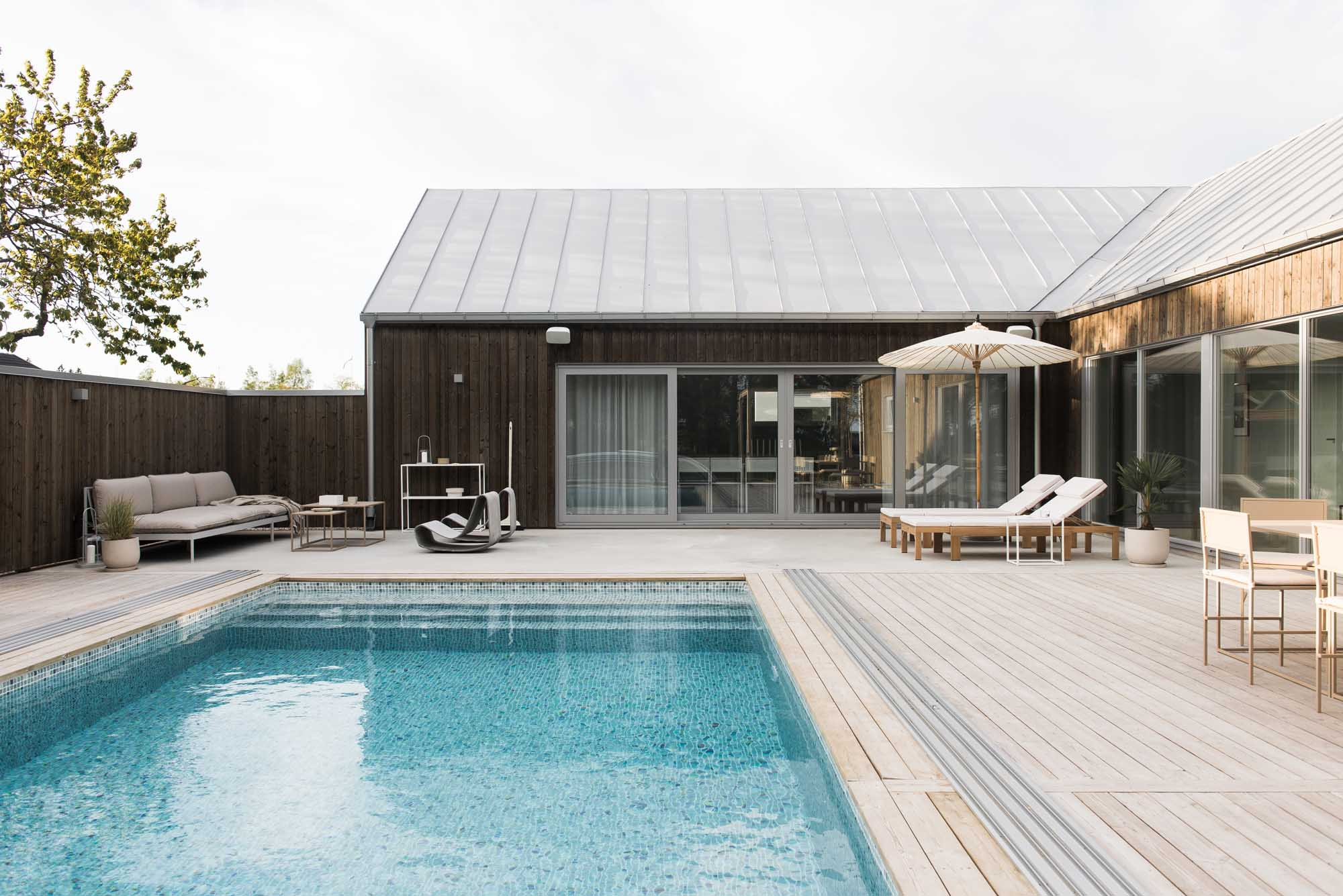 Home tour | A minimalist self-build in southern Sweden | These Four Walls blog