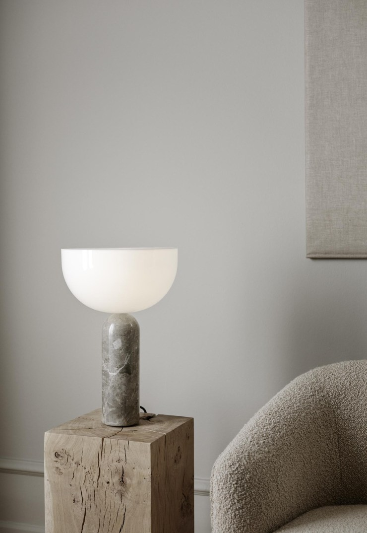 New Works' minimalist marble 'Kizu' table lamp | The design classics of the future | These Four Walls blog