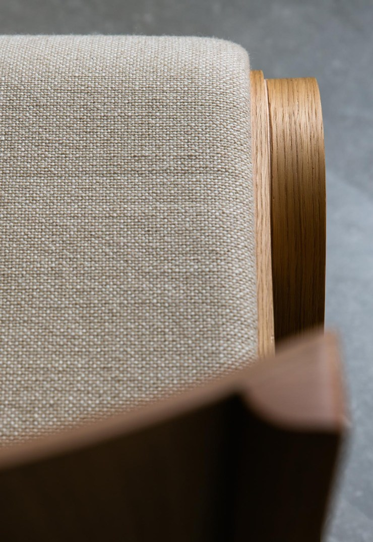 Oak chair with tactile beige upholstery   The autumn-winter 2021 collection from Menu   These Four Walls blog