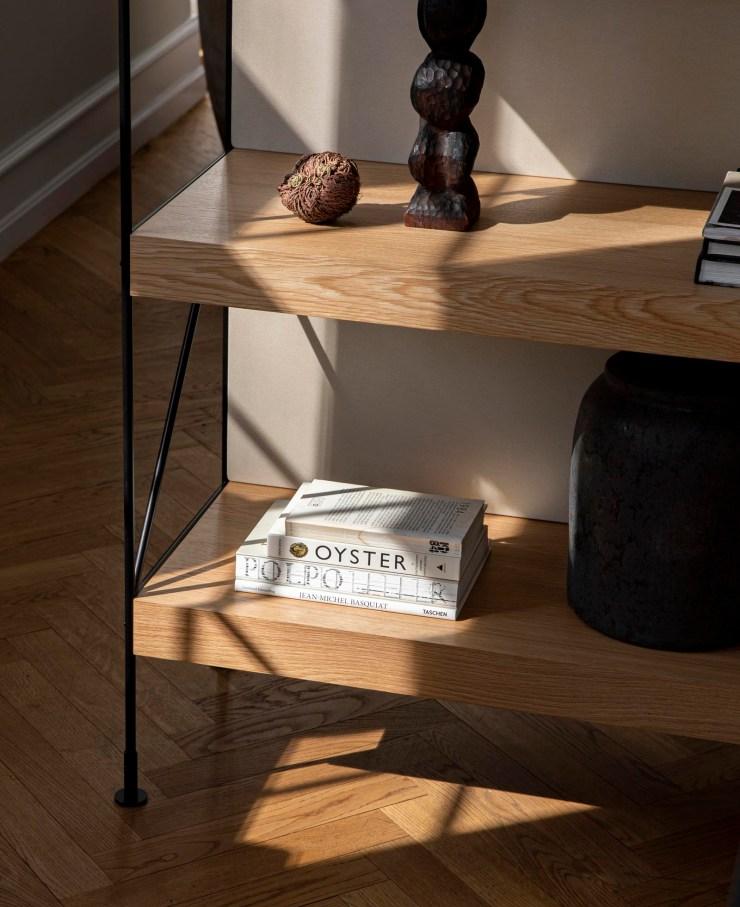 'Zet' - a minimalist oak modular storage system from Danish design brand Menu   These Four Walls blog