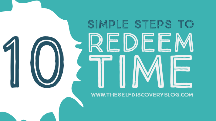 How to redeem the time