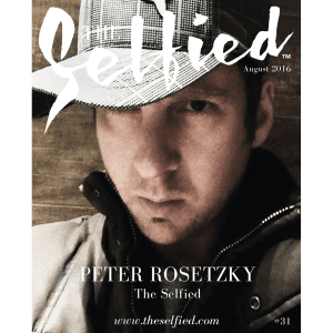 a selfie portrait of the founder and designer of The Selfied Peter Rosetzky