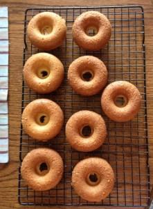 oven baked cake donut recipe