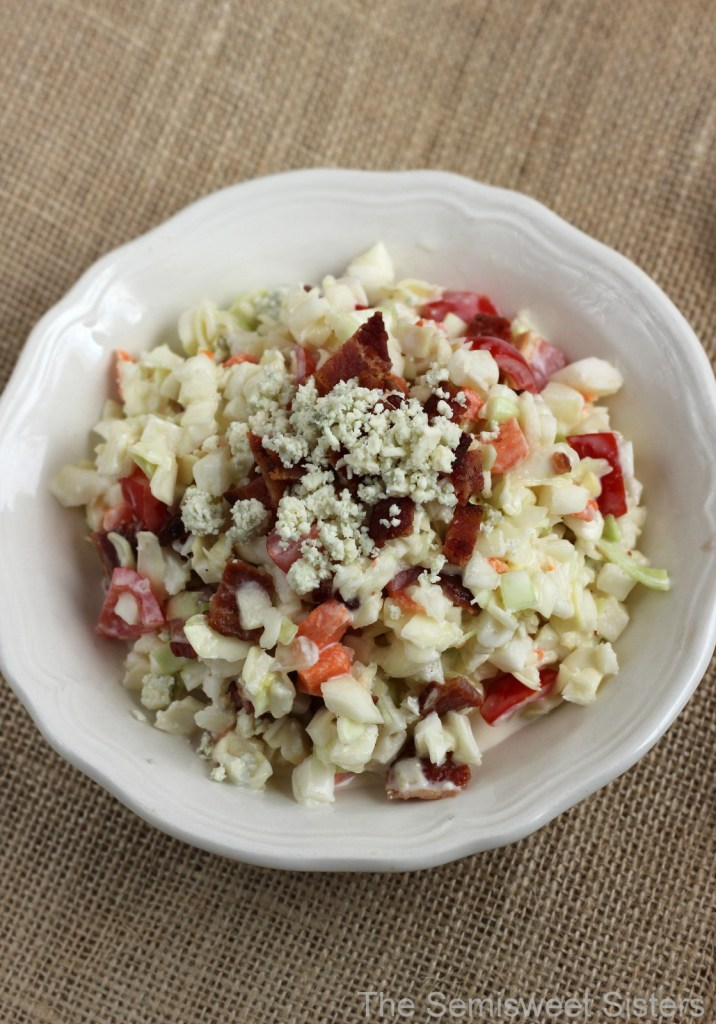 Bacon & Blue Cheese Coleslaw Recipe