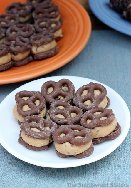 Chocolate Pretzel Peanut Butter Bites
