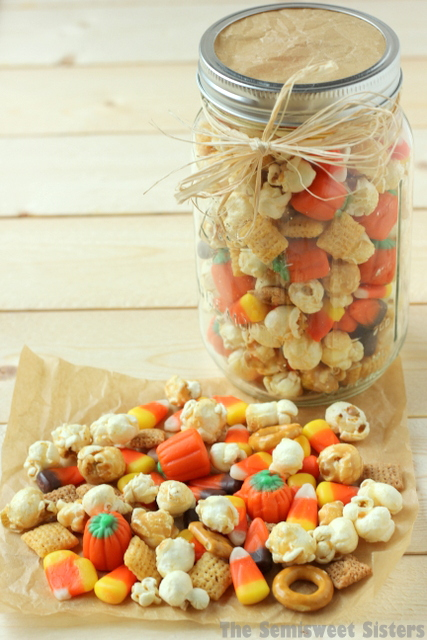 Salty Sweet Candy Corn Snack Mix