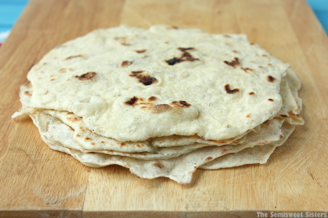 Flour Tortillas (Made with Oil)