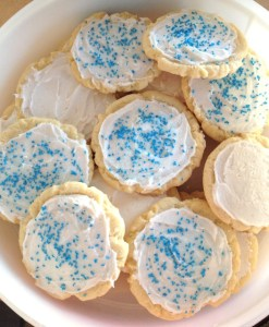 The Best Chewy Frosted Sugar Cookies