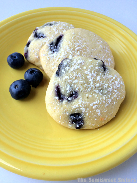 Blueberry Sour Cream Drop Cookies Recipe