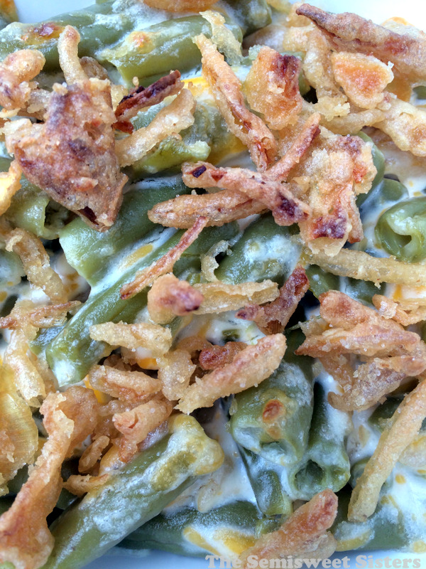 Green Bean Casserole NO condensed soup