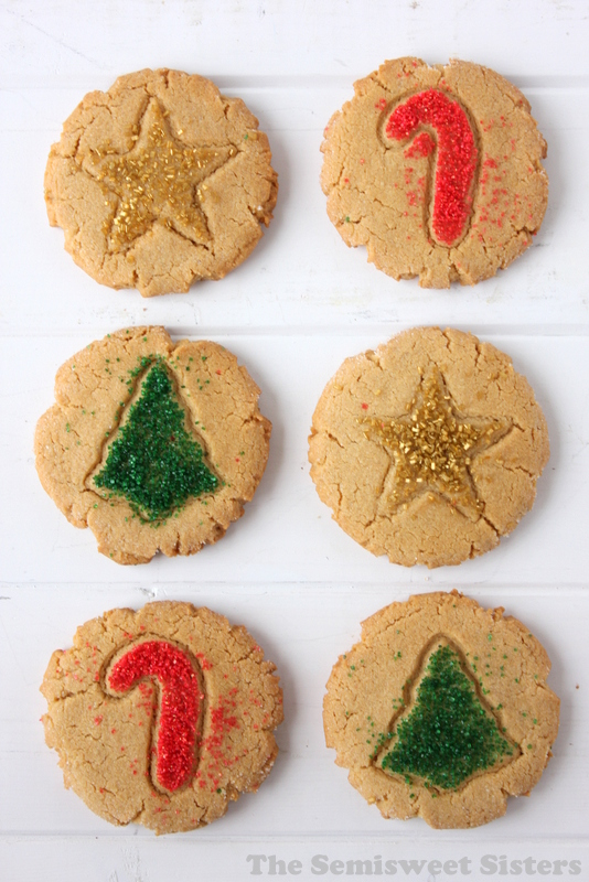 Christmas Peanut Butter Cookies