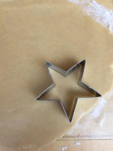 IMChristmas Cinnamon Star Shortbread Cookies
