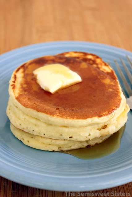 Fluffy dairy free pancakes dairy free fluffy homemade pancakes made with water instead of milk ccuart Choice Image