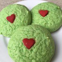 Grinch Christmas Sugar Cookies