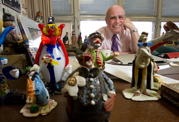 The clowns are more than a reminder of life's ironies, Dr. Phil Gold says.