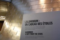 How fitting that Rio Tinto Alcan had a hand in building the new Planetarium: aluminum comes from the stars. (Photo by Hayley Juhl)