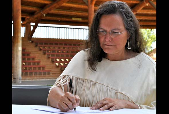 Bev Sellars writes directly and eloquently of her residential-school experiences. (Photo courtesy of Talonbooks)