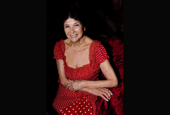 "Alanis Obomsawin expresses hope in youth: ""The future looks different."" (Photo: Linda Dawn Hammond)"