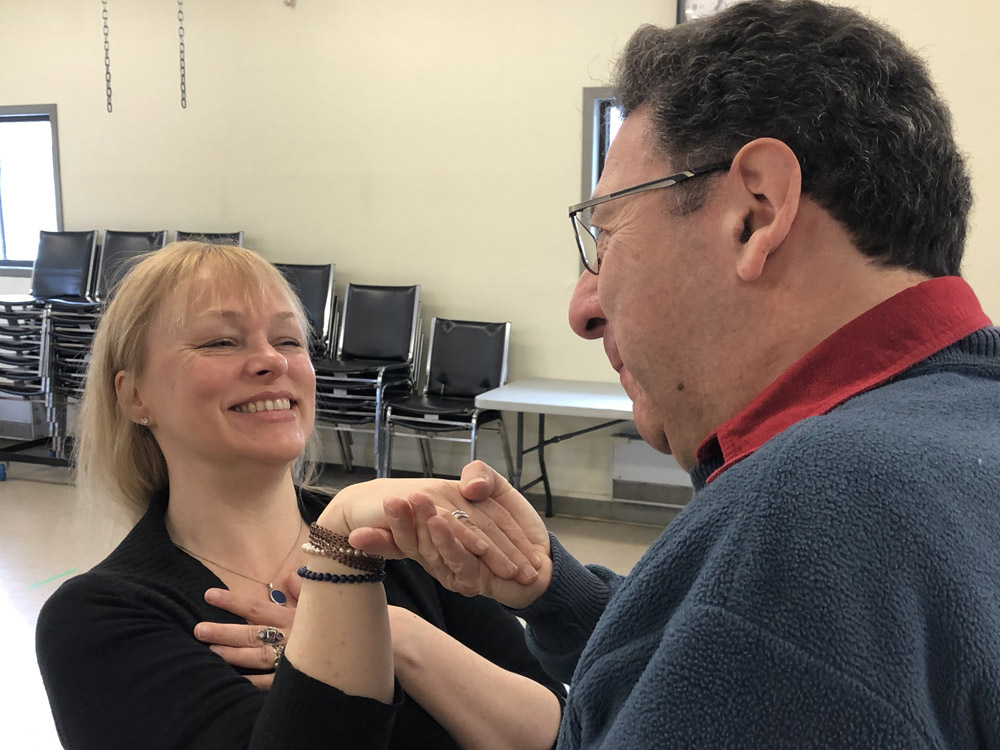 Lakeshore Players Dorval rehearse Opening Night.