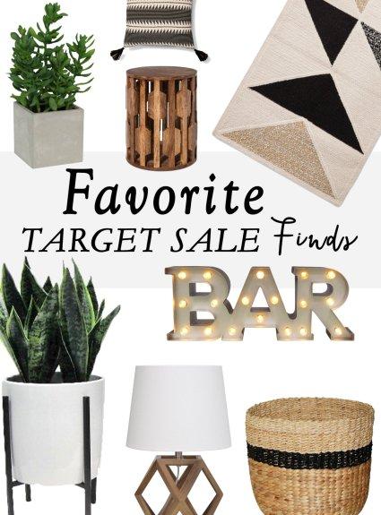 Favorite Target Sale Finds