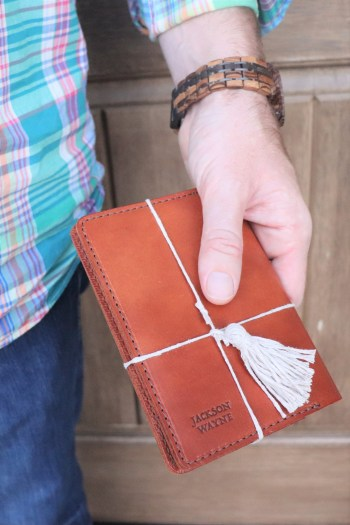 Cognac Leather Notebook