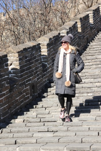 I loved walking the Great Wall