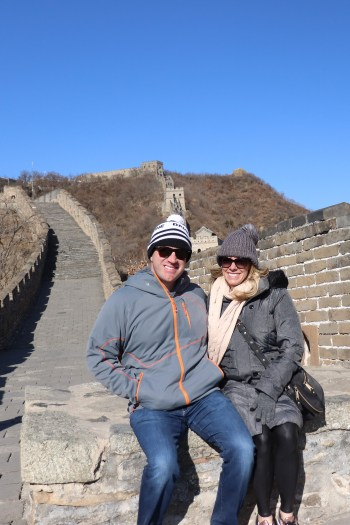 The Great Wall of China was truly amazing