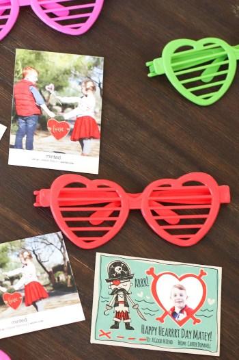My kids need photo Valentines
