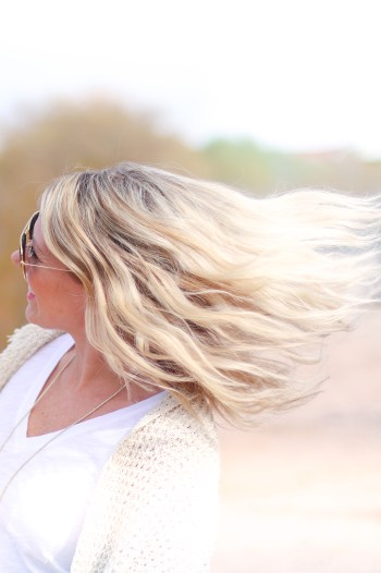 Flip your hair like you just don't care