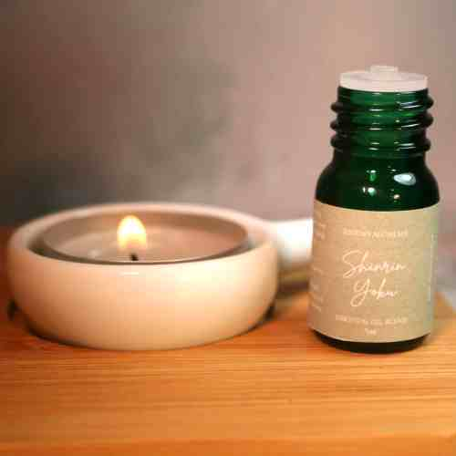 Shinrin Yoku Woodland Aromatherapy Blend from The Sensory Coach - every sale helps to plant trees